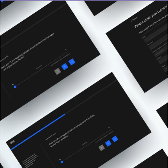 IBM Watson Health Assessment Tool